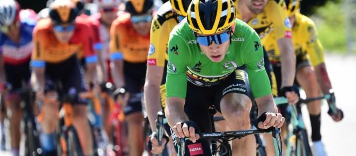 Wout van Aert - Peloton 4e étape Critérium du Dauphiné 2020 - ASO Alex Broadway