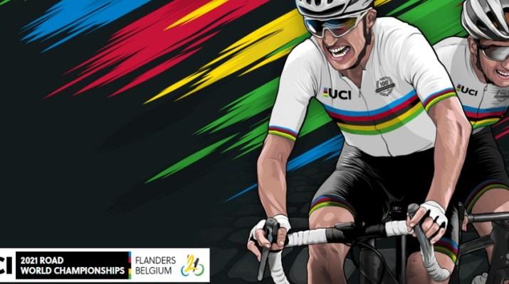Affiche - Championnats du monde sur route 2021 Flandre