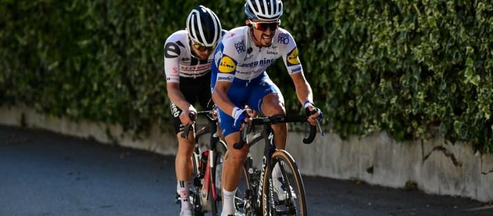 Attaque Julian Alaphilippe Marc Hirschi - 2e étape Tour de France 2020 - ASO Alex Broadway