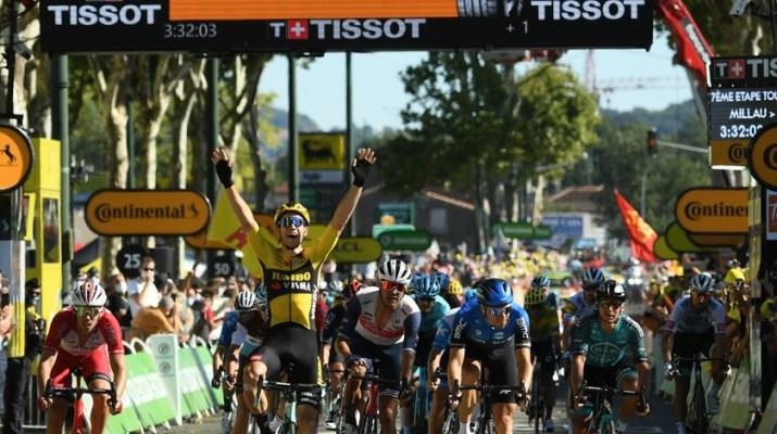 Wout van Aert - Vainqueur 8e étape Tour de France 2020 - ASO Alex Broadway