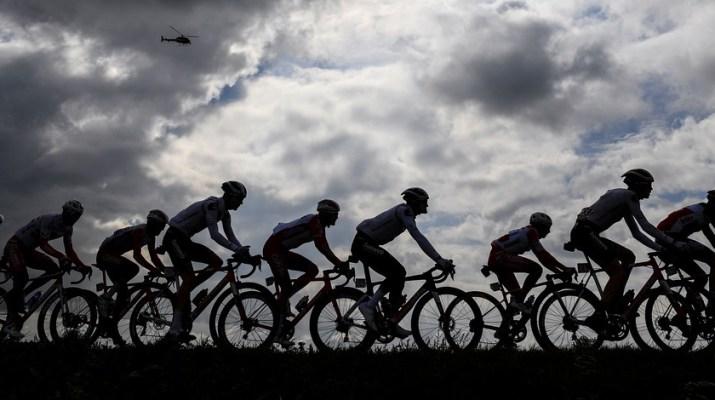 Peloton - 13e étape Tour d'Italie 2020 - RCS Sport La Presse Fabio Ferrari