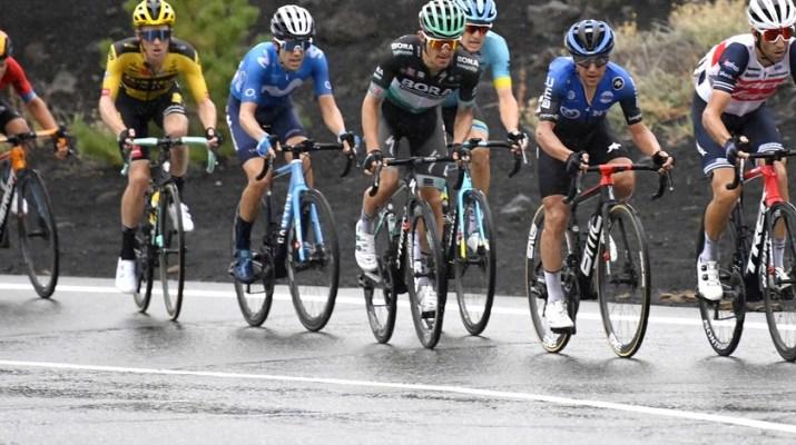 Vincenzo Nibali Favoris Etna - 3e étape Tour d'Italie 2020 - RCS Sport La Presse Fabio Ferrari
