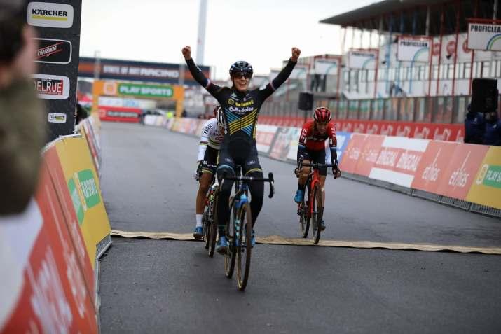 Lucinda Brand - Vainqueur Heusden-Zolder 2020 - Alain Vandepontseele
