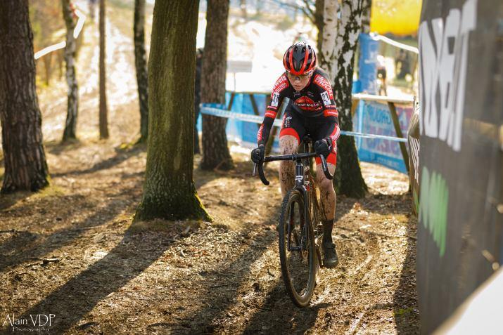Fem van Empel Montée - Cyclo-cross de Baal 2021 - Alain Vandepontseele