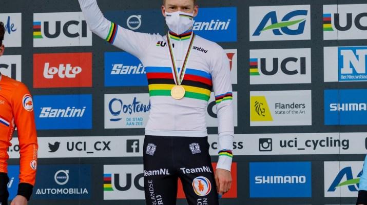 Pim Ronhaar champion du monde espoir - Championnats du monde cyclo-cross 2021 - Alain Vandepontseele