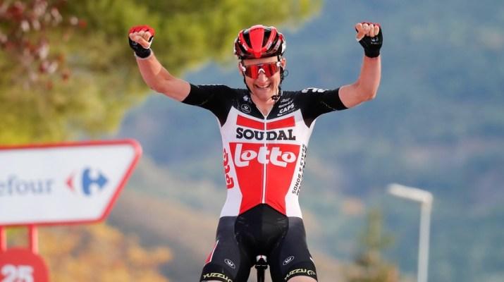 Tim Wellens - Vainqueur 5e étape Tour d'Espagne Vuelta 2020 - PHotogomezsport Luis Angel Gomez