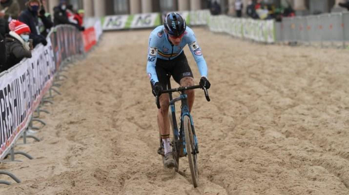 Toon Aerts Poursuite - Championnats du monde de cyclo-cross 2021 - Alain Vandepontseele