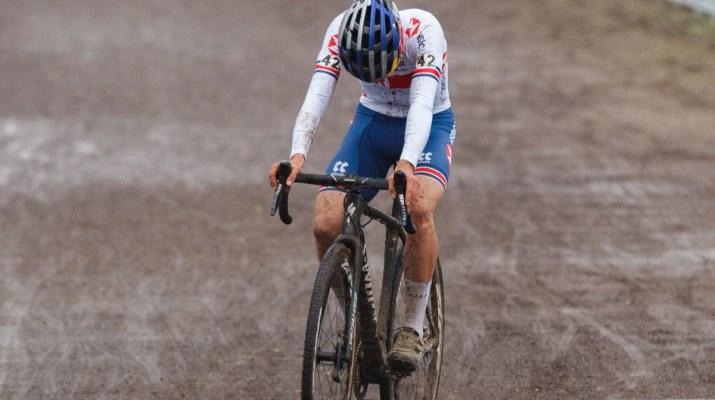 Tom Pidcock Quatrième - Championnats du monde de cyclo-cross 2021 - Alain Vandepontseele