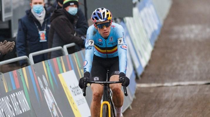 Wout van Aert Deuxième - Championnats du monde de cyclo-cross 2021 - Alain Vandepontseele