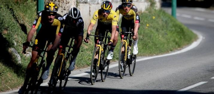 Primoz Roglic Blessé - 8e étape Paris-Nice 2021 - ASO Fabien Boukla