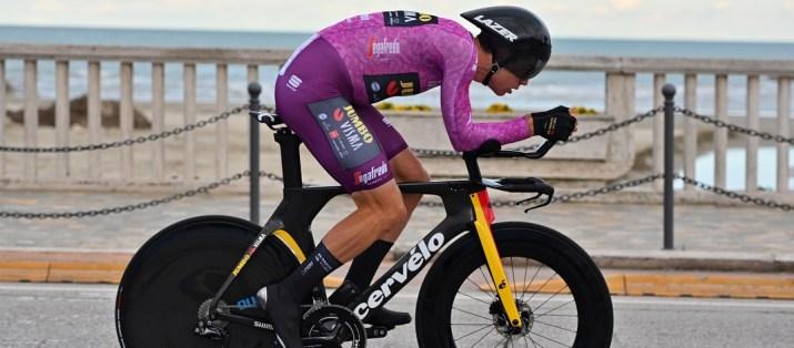 Wout van Aert - Vainqueur 7e étape Tirreno-Adriatico 2021 - RCS Sport La Presse