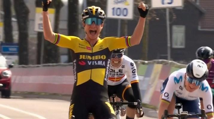 Marianne Vos 2 - Vainqueure Amstel Gold Race Femmes 2021 - Capture NOS
