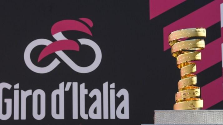 Trophée Giro Tour d'Italie 2021 - RCS Sport La Presse Fabio Ferrari