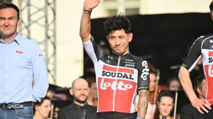 Caleb Ewan - Présentation Tour d'Italie 2021 - RCS Sport La Presse.JPG