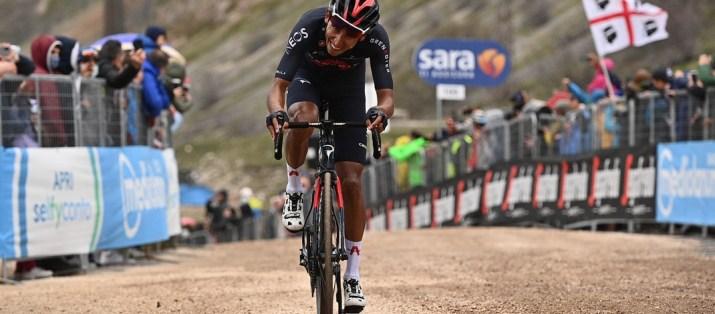 Egan Bernal Gravier - Vainqueur 9e étape Giro Tour d'Italie 2021 - RCS Sport La Presse Marco Alpozzi