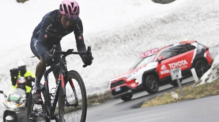 Egan Bernal - Passo Giau 16e étape Tour d'Italie Giro 2021 - RCS Sport La Presse Fabio Ferrari