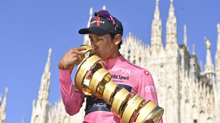 Egan Bernal - Vainqueur Tour d'Italie Giro 2021 - RCS Sport La Presse