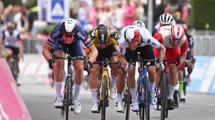 Tim Merlier Alpecin-Fenix - Victoire 2e étape Giro 2021 - RCS Sport La Presse Massimo Paolone
