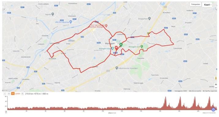 Carte et profil - Championnat de Belgique hommes 2021