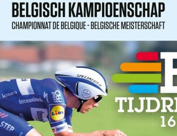 Affiche - Championnats de Belgique Contre-la-montre 2021