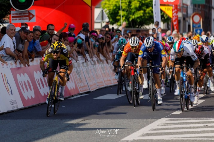 Dylan Groenewegen Victoire Sprint - 4e étape Tour de Wallonie 2021 - Alain Vandepontseele
