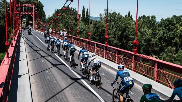 Peloton Deceuninck-Quick Step Pont - 13e étape Tour de France 2021 - ASO Charly Lopez