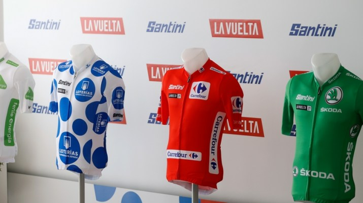 Maillots de leader - Tour d'Espagne Vuelta 2021 - ASO GOmez Sport Luis Angel Gomez