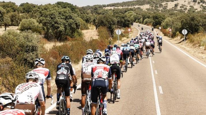 Peloton - 13e étape Tour d'Espagne Vuelta 2021 - ASO Gomez Sport Luis Angel Gomez