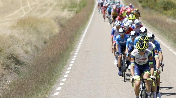 Peloton Intermarché-Wanty-Gobert Matériaux - 4e étape Tour d'Espagne Vuelta 2021 - ASO Unipublic Gomez Sport Luis Angel Gomez