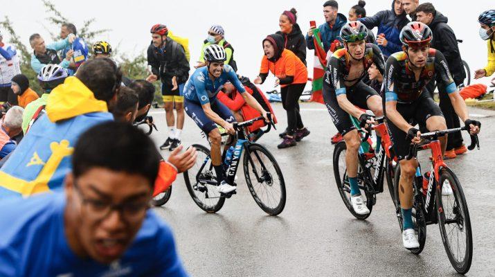 Jack Haig Enric Mas - 17ème étape Tour d'Espagne Vuelta 2021 - ASO GomezSport Luis Angel Gomez