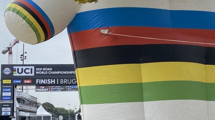 Championnat du monde 2021 Bruges Flandre - Maillot arc-en-ciel - Grégory Ienco