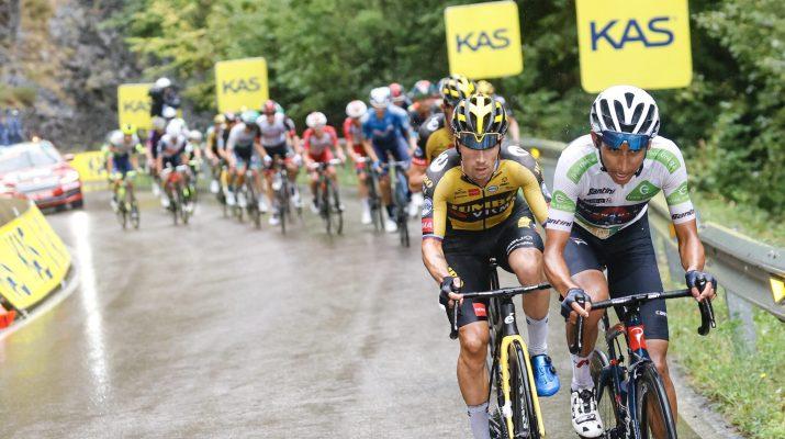 Attaque Primoz Roglic Egan Bernal - 17e étape Tour d'Espagne Vuelta 2021 - ASO GomezSport Luis Angel Gomez