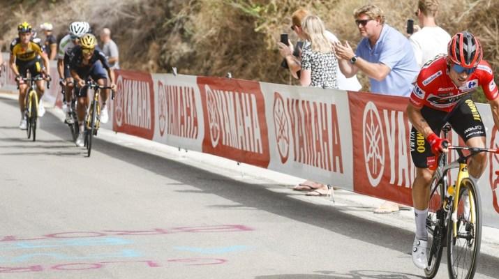 Primoz Roglic Attaque 10e étape Tour d'Espagne Vuelta 2021 - ASO GomezSport Luis Angel Gomez