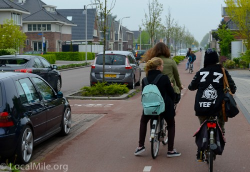 Vehicular riding or Segregation?