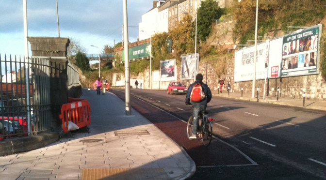 Improvements to cycle and public transport access to Cork Station