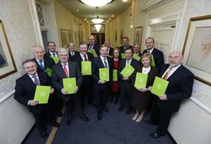 Cyclist.ie delegates meet a key civil servant coordinating cabinet's 'Healthy Ireland' initiative
