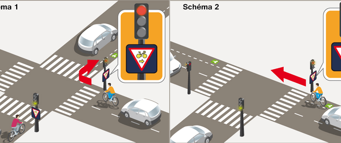 Cyclists in Paris can now legally ride through some red traffic lights in the city