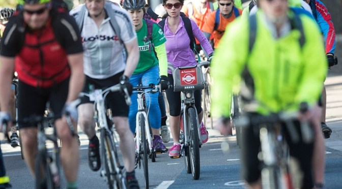 Why are London cyclists so white, male and middle-class?