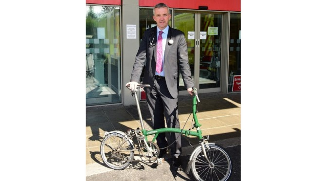 Appointment of Professor Donal O'Shea as Honorary President of Cyclist.ie