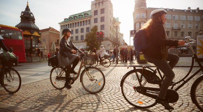 Two-wheel takeover: bikes outnumber cars for the first time in Copenhagen