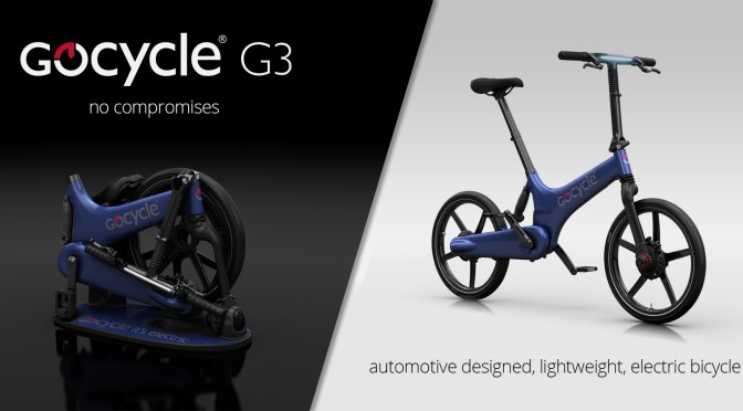GoCycle – compact foldable electric bike
