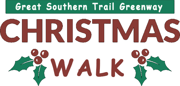 Huge turnout for Great Southern Trail Greenway Christmas Walk / Cycle 2017
