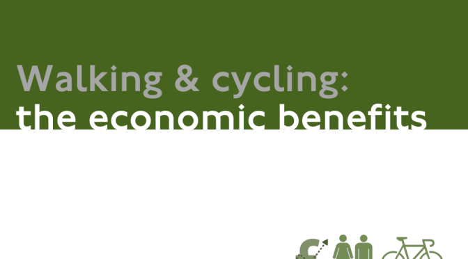 Walking / Cycling economic benefits summary