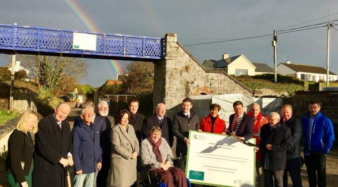 Turning the sod at Listowel & Fenit