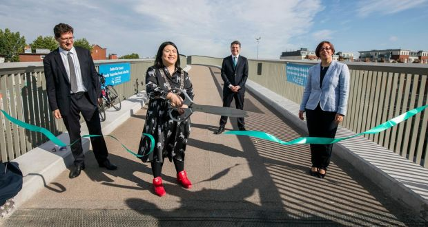 750m cycle path costing €9 million opens along Dublin's Royal Canal