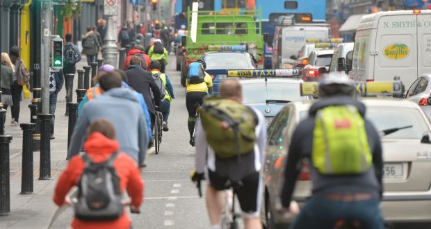Call for cycling 'superhighways' & less car use to cut transport emissions