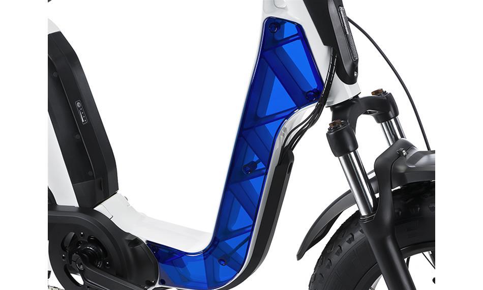 Cover Issimo transparent bleu