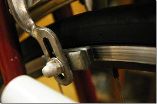 ママチャリ改造 ブレーキシューの交換