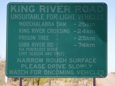 """Unfortunately reputation suggests the bit from Diggers Rest to the Gibb River Road is """"very sand, very dusty"""". A lethal combination for a touring bike"""