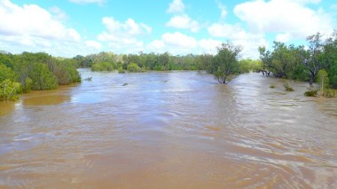 Flooded Fitzroy River